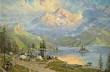 Thomas Kinkade The Edge of Wilderness painting