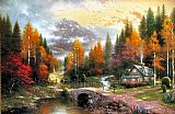 Famous Peace Paintings - The Valley of Peace