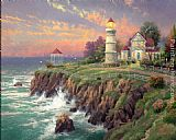 Thomas Kinkade Victorian Light painting