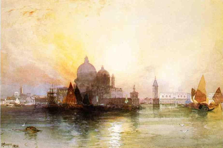 Thomas Moran Canvas Paintings