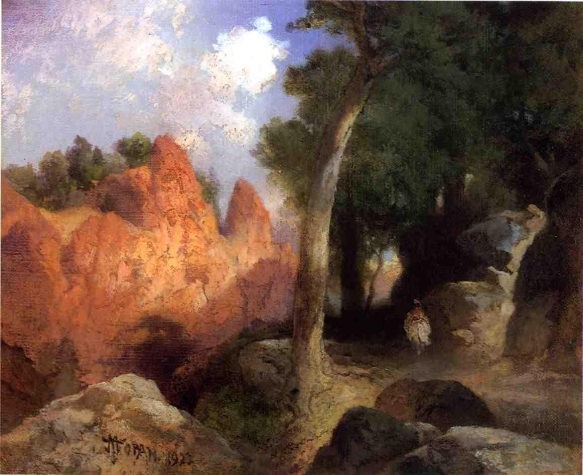 Thomas Moran Canyon of the Clouds