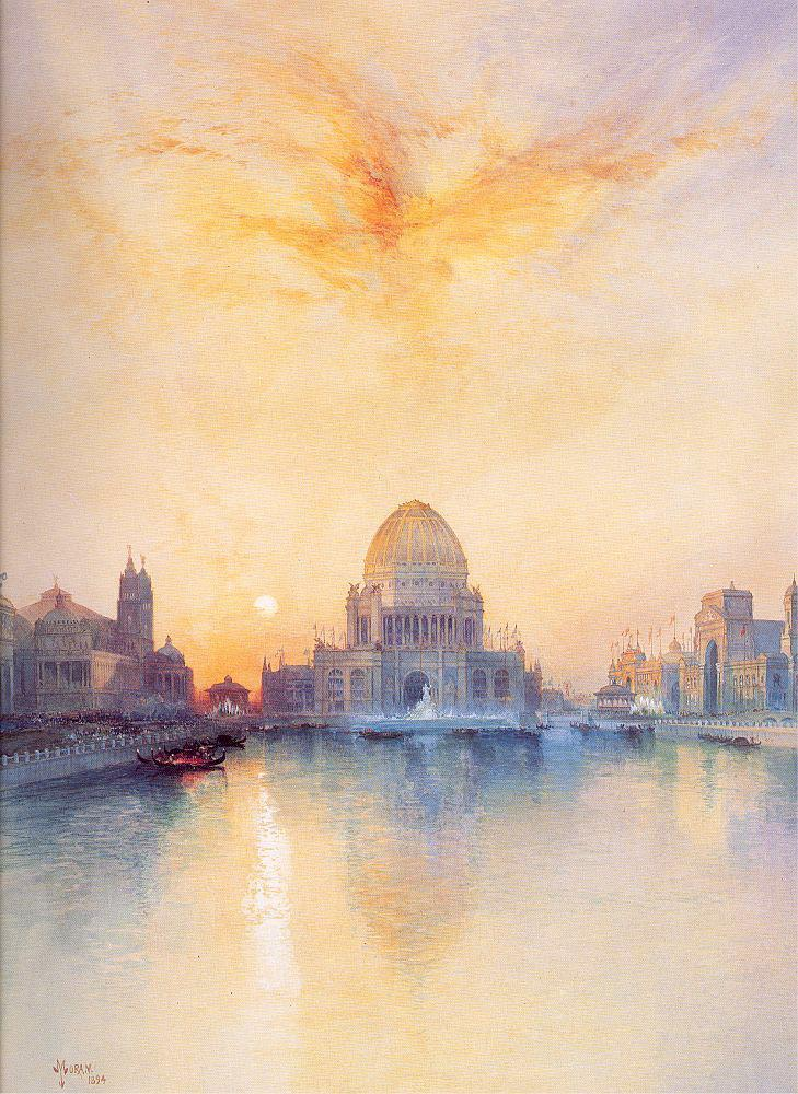 Thomas Moran Chicago World's Fair