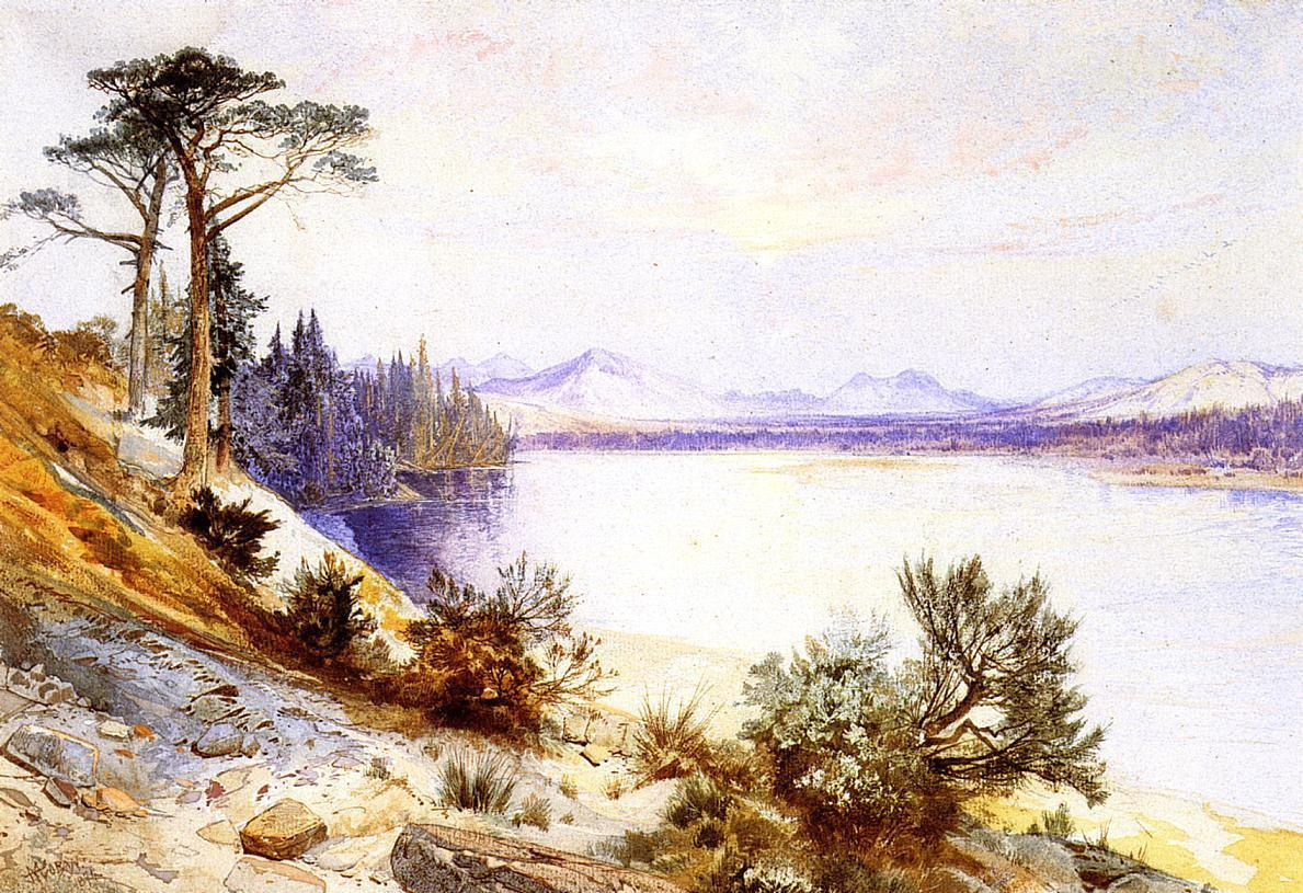 Thomas Moran Head of the Yellowstone River