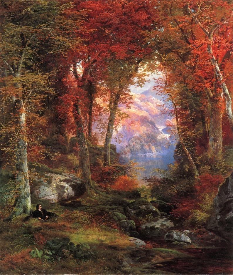 Thomas Moran The Autumnal Woods