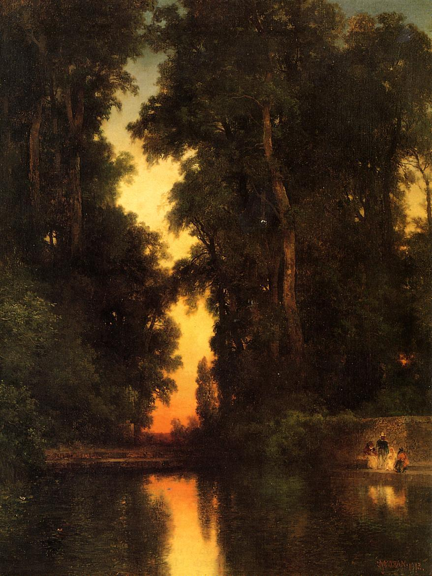 Thomas Moran The Borda Gardens,Mexico