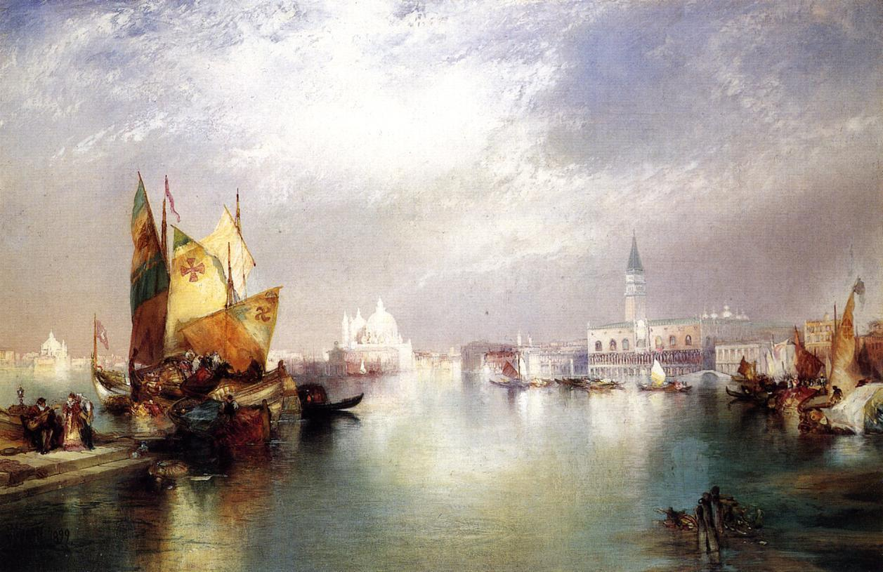 Thomas Moran The Splendor of Venice