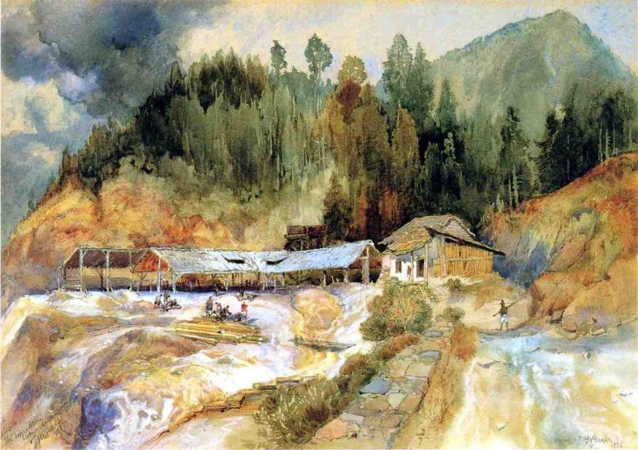 Thomas Moran Trojes Mine