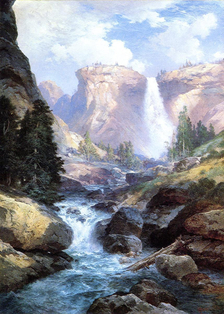 Famous Waterfall Paintings