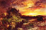 Famous Grand Paintings - An Arizona Sunset Near the Grand Canyon