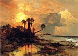 Famous Island Paintings - Fort George Island