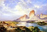Famous Green Paintings - Green River, Wyoming