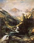 Famous Mountain Paintings - Mountain of the Holy Cross
