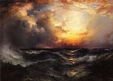 Sunset in Mid-Ocean