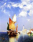Thomas Moran Wall Art - The Grand Canal,Venice
