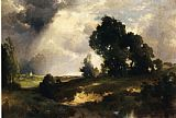 Thomas Moran The Passing Shower painting