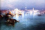 Thomas Moran Venice from San Giorgio painting