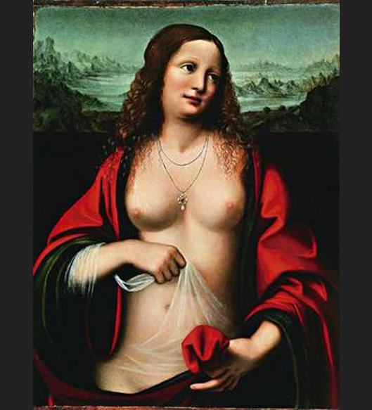 Unknown Artist Mary Magdalene holy grail
