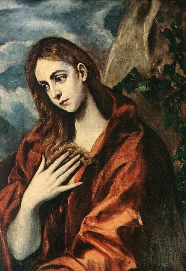 Unknown Artist Penance of Mary Magdalene By El Greco