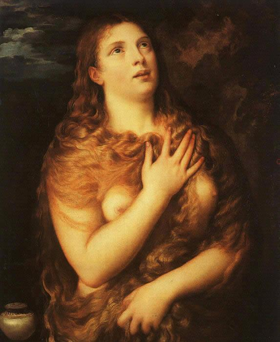 Unknown Artist Saint Mary Magdalene By Titian