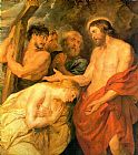 Famous Mary Paintings - Christ and Mary Magdalene by Rubens