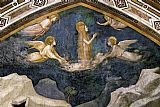 Unknown Artist Life of Mary Magdalene Mary Magdalene Speaking to the Angels By Giotto di Bondone painting