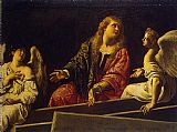 Famous Mary Paintings - Mary Magdalene at the Tomb