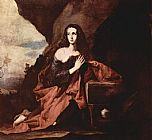 Famous Mary Paintings - Mary Magdalene in the Desert