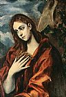 Famous Mary Paintings - Penance of Mary Magdalene By El Greco