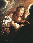Famous Saint Paintings - Saint Mary Magdalene Penitent By Domenico Feti