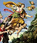 Famous Mary Paintings - The Assumption of Mary Magdalene into Heaven Domenichino