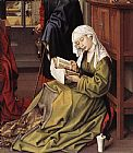 Unknown Artist The Magdalen Reading By Weyden Rogierc painting