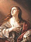 Unknown Artist The Penitent Magdalene By Guido Reni painting