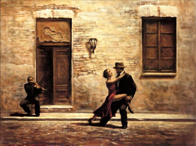 Unknown Artist Just One Violin by Hamish Blakely