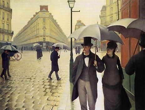 Gustave Caillebotte Canvas Paintings