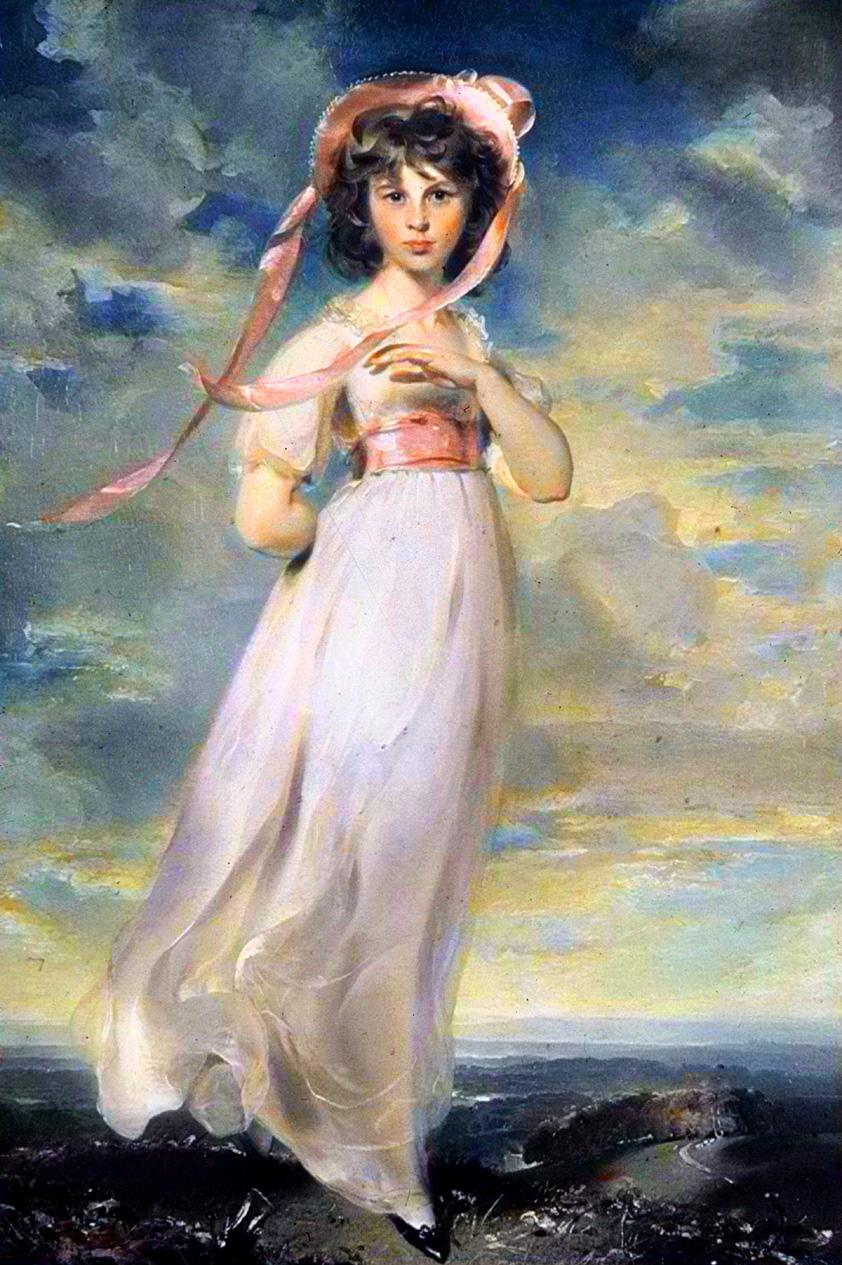 Unknown Artist Sir Thomas Lawrence pinkie