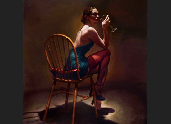 Unknown Artist Sitting Pretty by Hamish Blakely