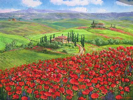 Famous Poppies Paintings