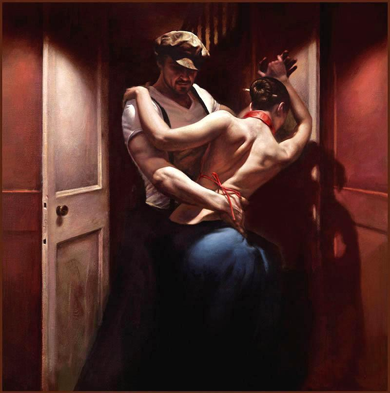 Unknown Artist Tango Rouge by Hamish Blakely