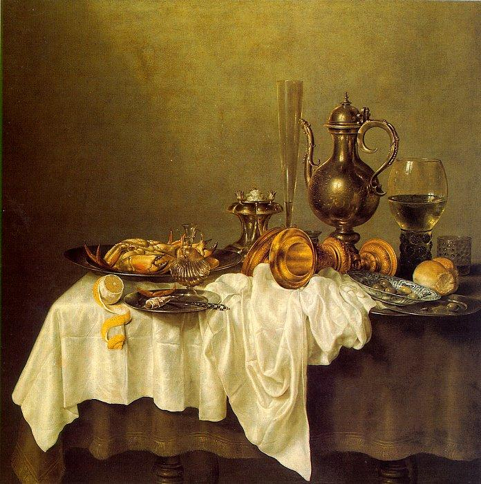 Unknown Artist heda Breakfast of Crab
