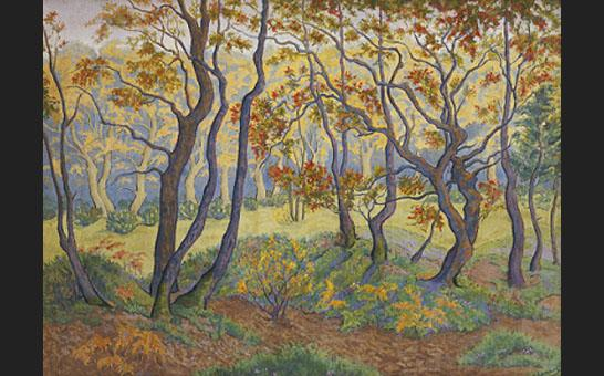 Unknown Artist paul ranson Edge of the Forest