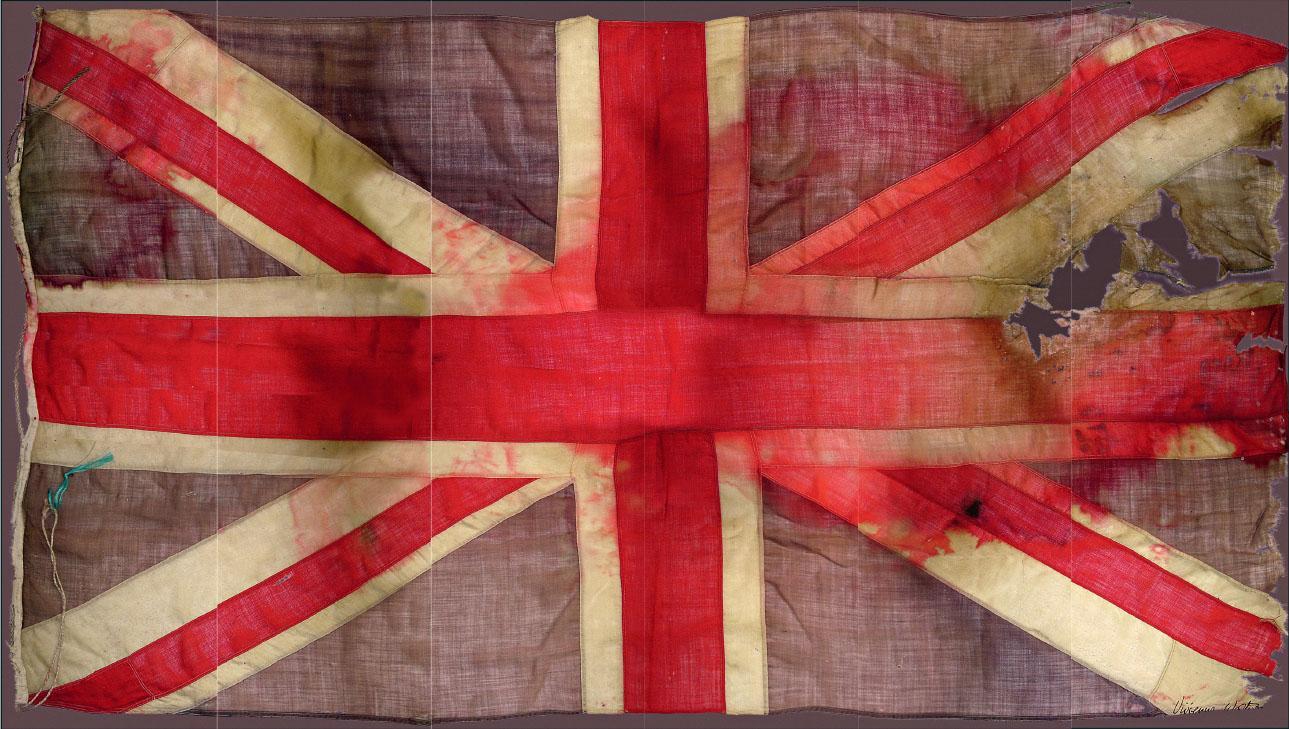 Unknown Artist Vivienne Westwood Union Jack Flag Painting