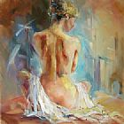 Unknown Artist Anna Repose I painting