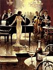 Famous Night Paintings - Brent Heighton Jazz Night Out