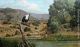 Fish Canvas Paintings - Fish Eagle by Craig Bone