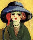 Unknown Artist Kees van Dongen Portrait of Dolly painting