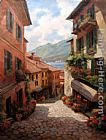 Lake Como Italian Village by Paul Guy Gantner
