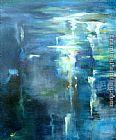 Unknown Artist Large Deep Water painting