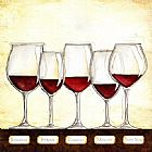Famous Les Paintings - Les Vins Rouges