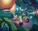 Mad Canvas Paintings - MAD HATTER'S TEA PARTY