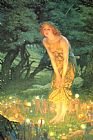 Unknown Artist Mid-Summer's Eve by Edward Robert Hughes painting